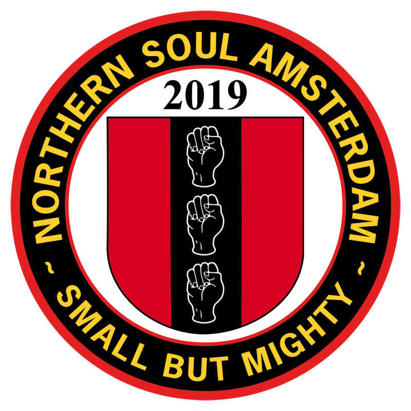 Northern Soul Amsterdam badge 2019